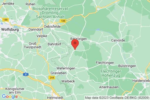 Karte Everingen