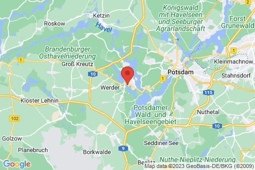 Karte Werder (Havel)