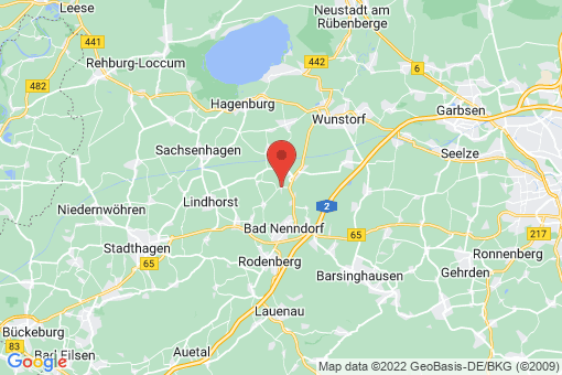 Karte Hohnhorst Hohnhorst