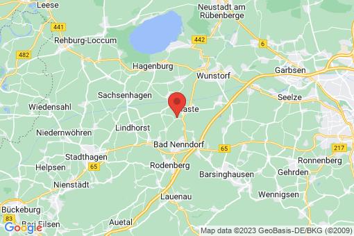 Karte Hohnhorst