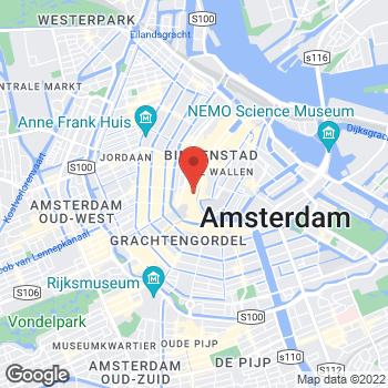 Map of Foot Locker Amsterdam at Kalverstraat 103, Amsterdam,  1012 PA