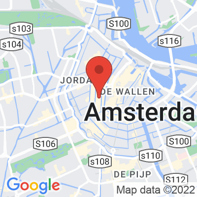 Map showing Rapha Amsterdam