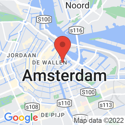 Map showing Black Gold Amsterdam