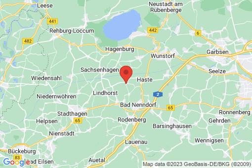 Karte Hohnhorst Rehren A.R.