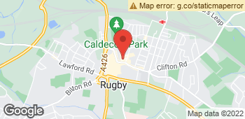 Map of Flowers By Pauline at 4 Regent Street, Rugby, Warwickshire CV21 2QF