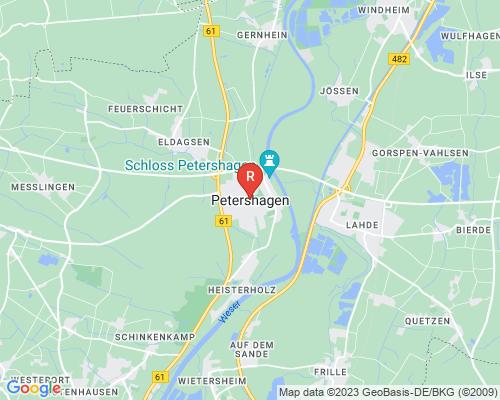 Google Karte von Rohreinigung Petershagen