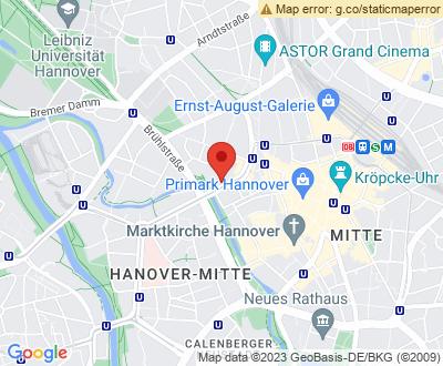 Anfahrt zu Alles Clean 24 Hannover - DE-H