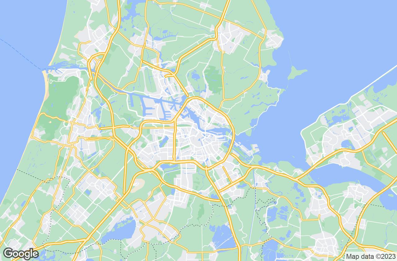 Google Map of أمستردام