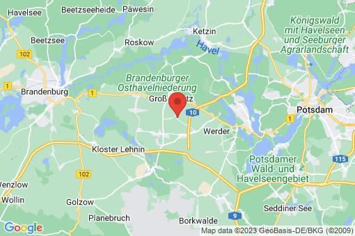 Karte Bochow