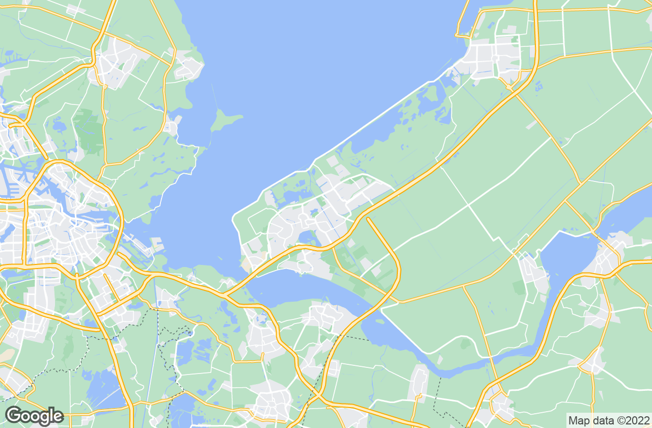 Google Map of Almere