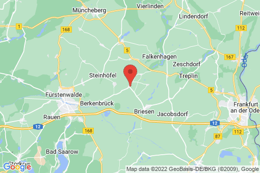 Karte Madlitz-Wilmersdorf Falkenberg