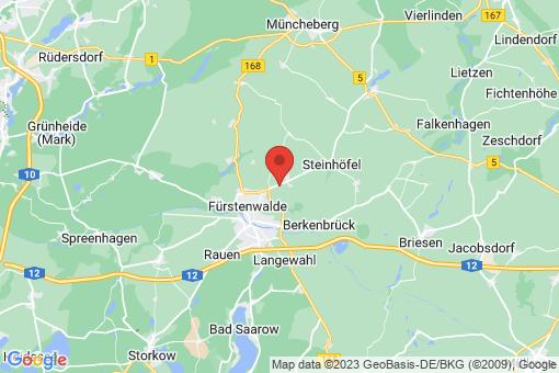Karte Steinhöfel Neuendorf im Sande