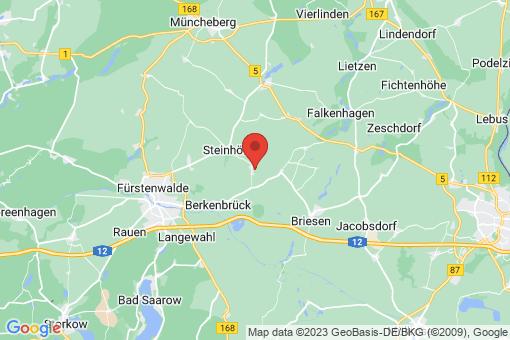 Karte Steinhöfel Demnitz