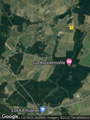 Google Map of Madlitz-Wilmersdorf