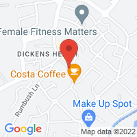 Dickens Heath Google Map