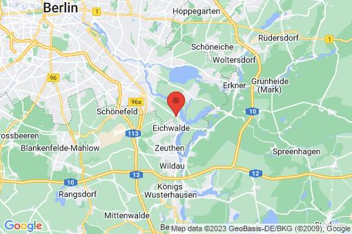Karte Berlin-Grünau