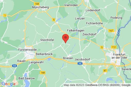 Karte Madlitz-Wilmersdorf