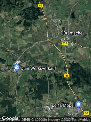 Google Map of Pente