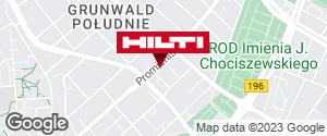 Wyświetl instrukcję Hilti Store Poznań