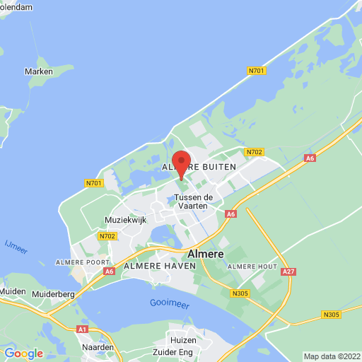 Holland Cup map