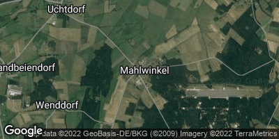 Google Map of Mahlwinkel