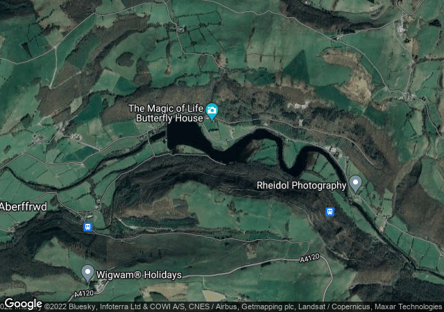 Cwm Rheidol Reservoir