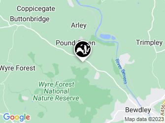 A static map of Button Oak meadow