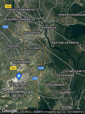 Google Map of Bohnsdorf