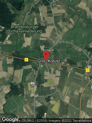Google Map of Groß Kreutz