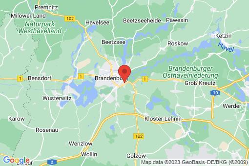 Karte Brandenburg an der Havel
