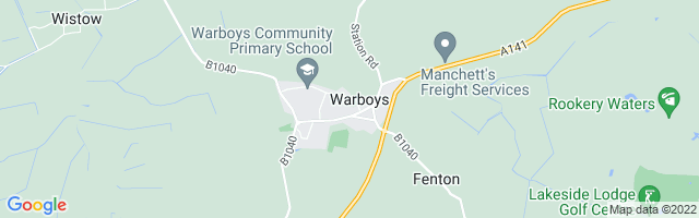 Map Of Warboys