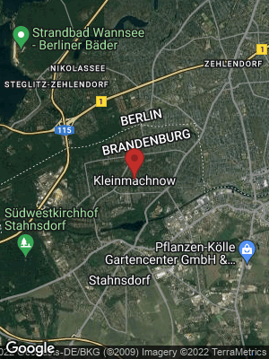 Google Map of Kleinmachnow