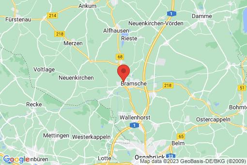 Karte Bramsche