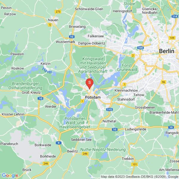 Disc Golf-Anlage Potsdam