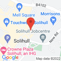 Solihull Office Google Map