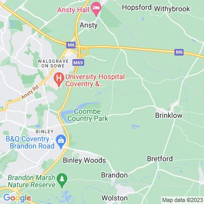 Combe Abbey Location