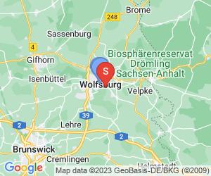 Karte für City Partner Parkhotel Wolfsburg