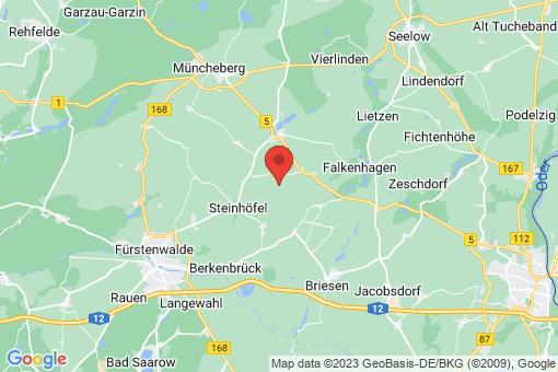 Karte Steinhöfel Hasenfelde
