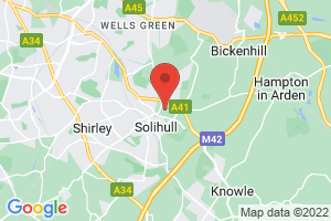 Solihull Hospital Library on the map