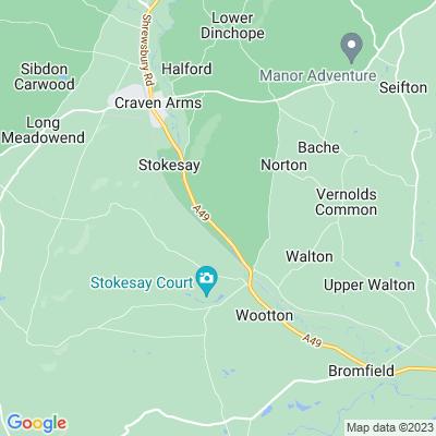 Onibury Location