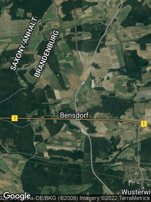 Google Map of Bensdorf