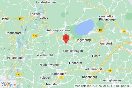 Karte Wölpinghausen Wölpinghausen