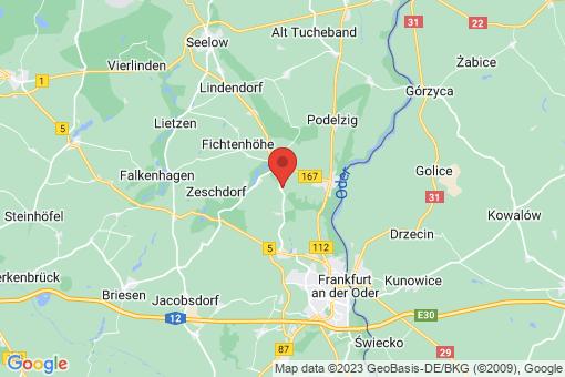 Karte Lebus Schönfließ