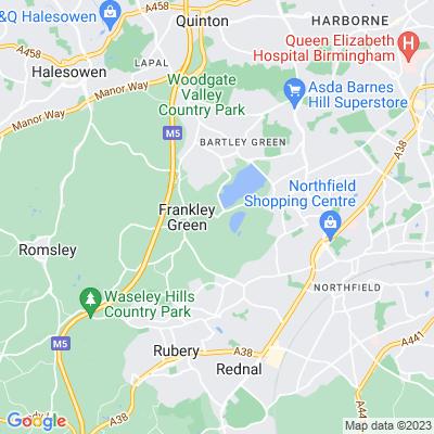 Frankley Park Location