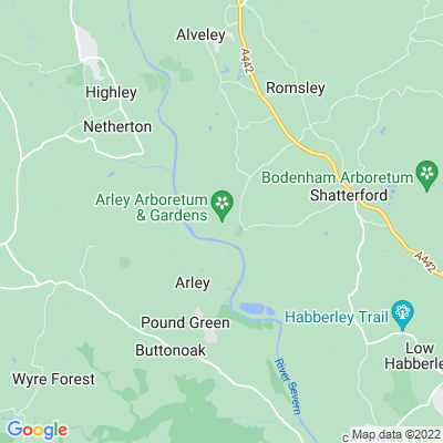 Arley House Location