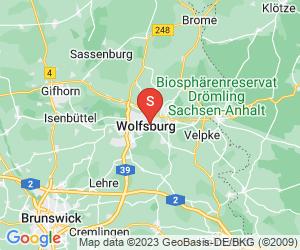 Karte für Wake Park Wolfsburg