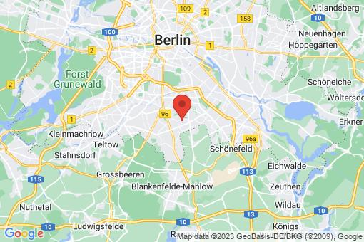 Karte Berlin-Britz
