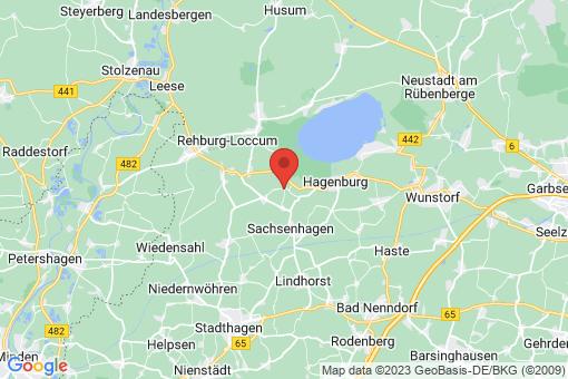 Karte Wölpinghausen Wiedenbrügge