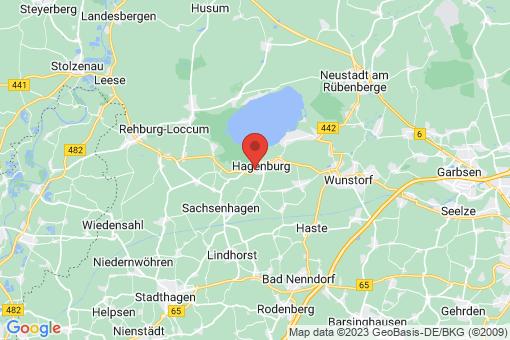 Karte Hagenburg Hagenburg