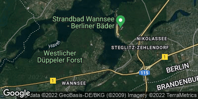 Google Map of Wannsee